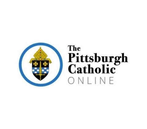 Logo of the Pittsburgh Catholic Online.