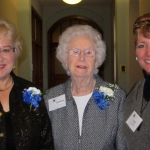 Karen Snyder, Teresa Kinzer, and Erin Dowling Middleton