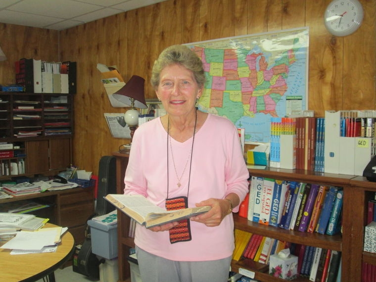 Pennsylvania native Marlene McClain, 78, made her way to the Rio Grande Valley. In early November, McClain, made her way south to volunteer at La Posada Providencia. There, she has become an important staple to the shelter, helping out in any way she can.